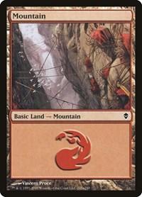 Mountain (245a), Magic: The Gathering, Zendikar