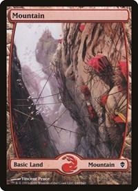 Mountain (245) - Full Art, Magic: The Gathering, Zendikar