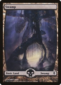Swamp (238) - Full Art, Magic: The Gathering, Zendikar