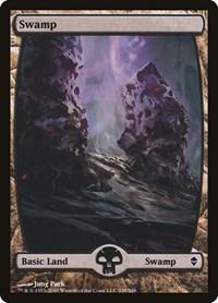 Swamp (239) - Full Art, Magic: The Gathering, Zendikar