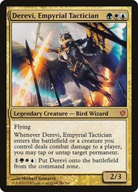 Derevi, Empyrial Tactician, Magic: The Gathering, Commander 2013