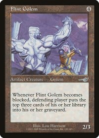 Flint Golem, Magic, Nemesis