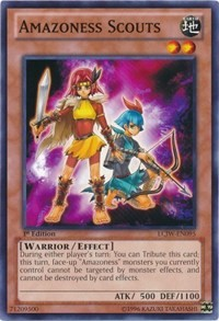 Amazoness Scouts, YuGiOh, Legendary Collection 4: Joey's World