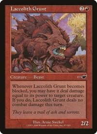 Laccolith Grunt, Magic: The Gathering, Nemesis