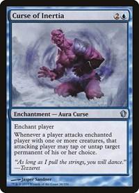 Curse of Inertia, Magic: The Gathering, Commander 2013