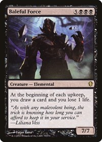 Baleful Force, Magic: The Gathering, Commander 2013