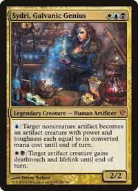 Sydri, Galvanic Genius, Magic: The Gathering, Commander 2013