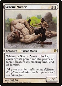 Serene Master, Magic: The Gathering, Commander 2013