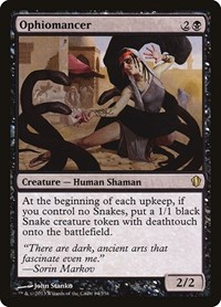 Ophiomancer, Magic: The Gathering, Commander 2013