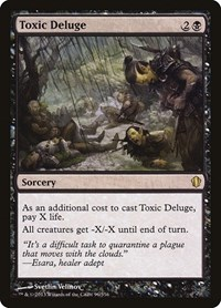 Toxic Deluge, Magic: The Gathering, Commander 2013