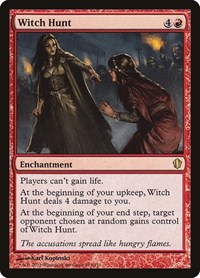 Witch Hunt, Magic: The Gathering, Commander 2013