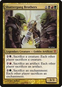 Shattergang Brothers, Magic: The Gathering, Commander 2013