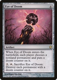 Eye of Doom, Magic: The Gathering, Commander 2013
