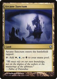 Arcane Sanctum, Magic: The Gathering, Commander 2013