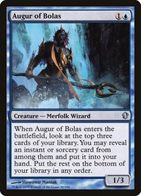 Augur of Bolas, Magic: The Gathering, Commander 2013