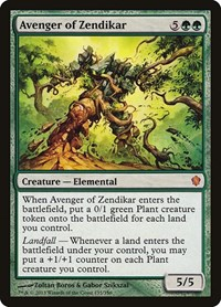 Avenger of Zendikar, Magic: The Gathering, Commander 2013
