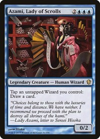 Azami, Lady of Scrolls, Magic: The Gathering, Commander 2013