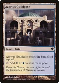 Azorius Guildgate, Magic: The Gathering, Commander 2013