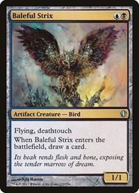 Baleful Strix, Magic: The Gathering, Commander 2013