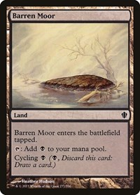 Barren Moor, Magic: The Gathering, Commander 2013