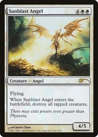 Sunblast Angel, Magic: The Gathering, Media Promos