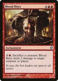 Blood Rites, Magic: The Gathering, Commander 2013
