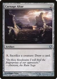 Carnage Altar, Magic, Commander 2013