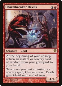 Charmbreaker Devils, Magic: The Gathering, Commander 2013