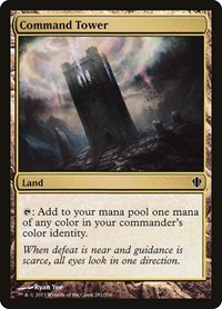 Command Tower, Magic: The Gathering, Commander 2013