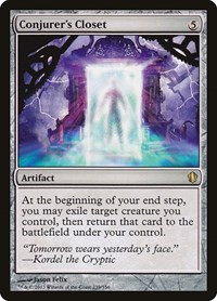 Conjurer's Closet, Magic: The Gathering, Commander 2013