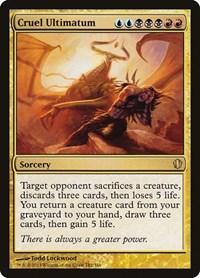 Cruel Ultimatum, Magic: The Gathering, Commander 2013