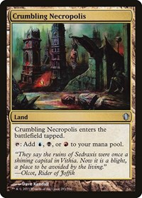 Crumbling Necropolis, Magic: The Gathering, Commander 2013