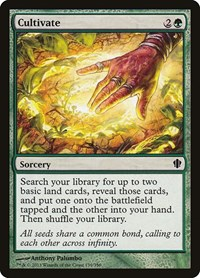 Cultivate, Magic: The Gathering, Commander 2013