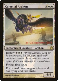 Celestial Archon, Magic: The Gathering, Prerelease Cards