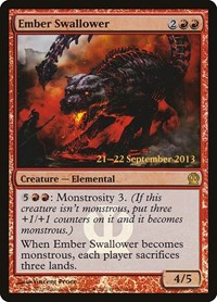 Ember Swallower, Magic: The Gathering, Prerelease Cards