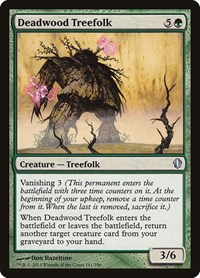 Deadwood Treefolk, Magic: The Gathering, Commander 2013