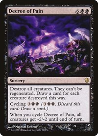 Decree of Pain, Magic: The Gathering, Commander 2013
