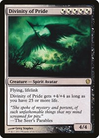 Divinity of Pride, Magic: The Gathering, Commander 2013