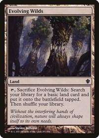 Evolving Wilds, Magic: The Gathering, Commander 2013