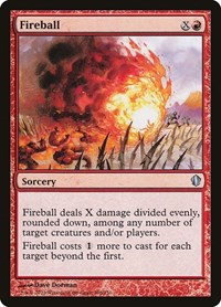 Fireball, Magic: The Gathering, Commander 2013