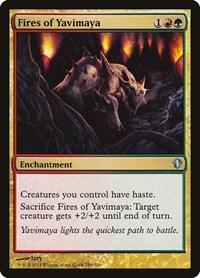 Fires of Yavimaya, Magic: The Gathering, Commander 2013