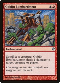 Goblin Bombardment, Magic: The Gathering, Commander 2013