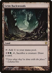 Grim Backwoods, Magic: The Gathering, Commander 2013