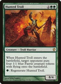 Hunted Troll, Magic: The Gathering, Commander 2013