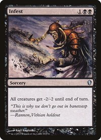 Infest, Magic: The Gathering, Commander 2013