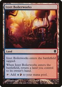 Izzet Boilerworks, Magic: The Gathering, Commander 2013