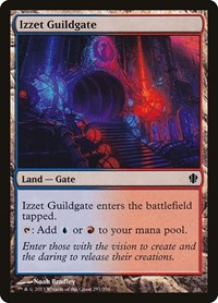 Izzet Guildgate, Magic: The Gathering, Commander 2013