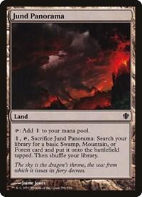 Jund Panorama, Magic: The Gathering, Commander 2013