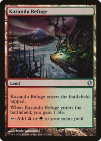 Kazandu Refuge, Magic: The Gathering, Commander 2013