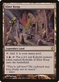 Kher Keep, Magic: The Gathering, Commander 2013